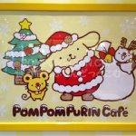 ポムポムプリンカフェ☆クリスマスな店内。
