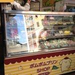 ポムポムプリン☆ポムポムプリンSHOP in HANDS【6】店頭冷蔵ショーケース