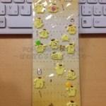 ポムポムプリン*コレクション☆2004年のモチモチキラキラシール