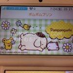 ポムポムプリン☆ニンテンドー3DSのテーマにポムポムプリン
