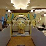 ポムポムプリンカフェ☆横浜店☆【13】普通席と壁紙と床