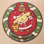 ポムポムプリンカフェ☆原宿店☆クリスマスのコースター配布中