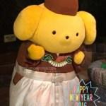 ポムポムプリン☆ピューロは旧正月まで着物(≧∀≦)ノ
