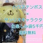 ポムポムプリン☆ハウステンボス限定コラボグッズの福袋5千円送料無料