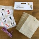 埼玉県所沢市のかぎ針編み教室pomponnerが娘と一緒にフライングタイガーで購入したアドベントカレンダーキットの画像