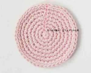 埼玉県所沢市のかぎ針編み教室pomponnerが円のモチーフをかぎ針で編んだ画像。