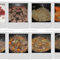 hirvikastike - gulasz z mięsa łosia