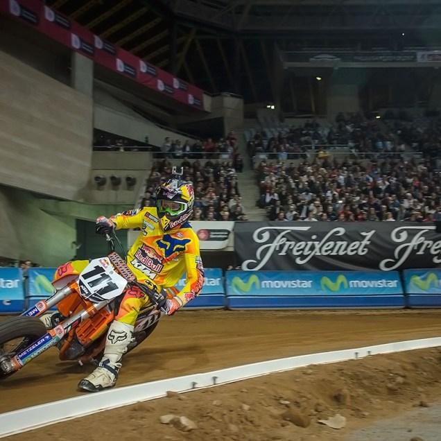 Taddy Błażusiak - Superprestigio Dirt Track Barcelona 2014