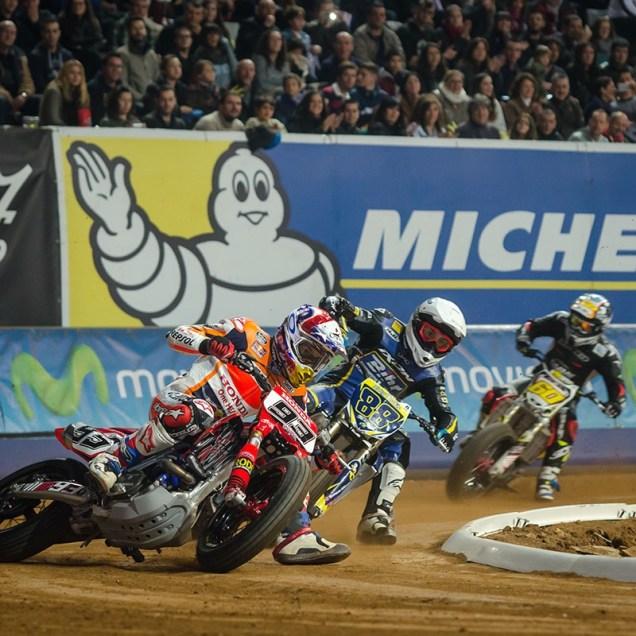 Marc Marquez - Superprestigio Dirt Track Barcelona 2014