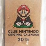 クラブニンテンドーから素敵なオリジナルカレンダーが届いたよ!