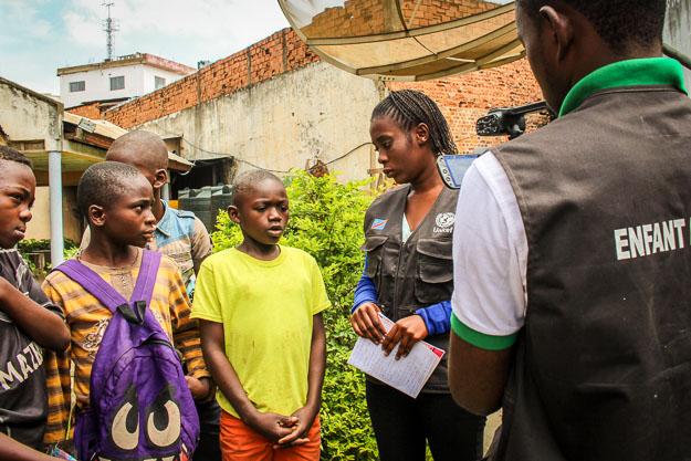 Enfants Reporters Lubumbashi