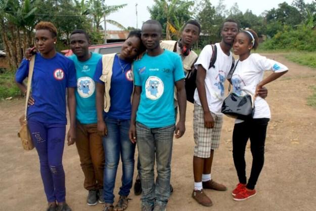 enfants reporters en RDC