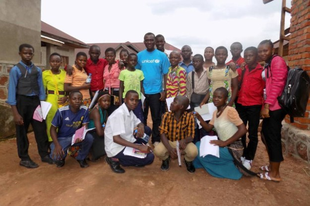 First team of Young Reporters in Haut-Uélé