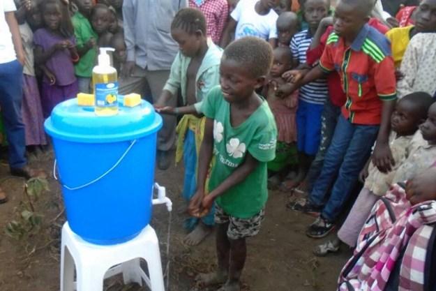 enfants déplacés de l'Ituri