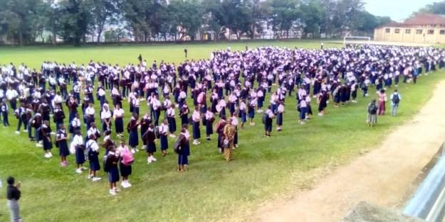 Les élèves face au COVID-19 en RDC