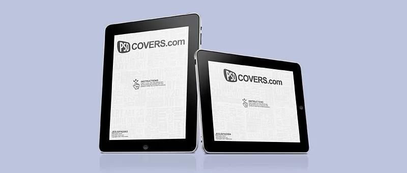 PSD covers - mockup