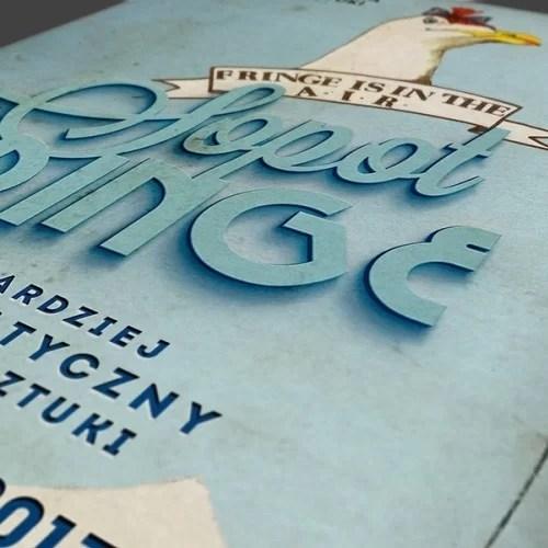 Fringe Festiwal projekty graficzne