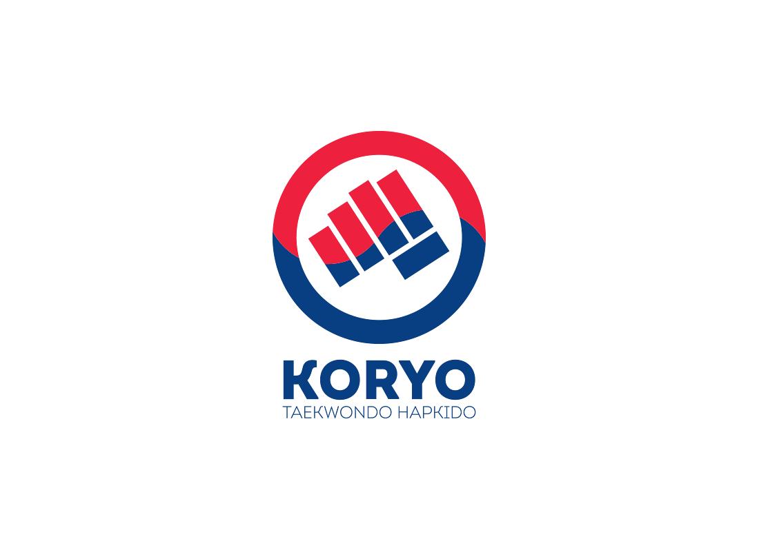 Projekt logo dla szkoły sztuki walki Teakwondo