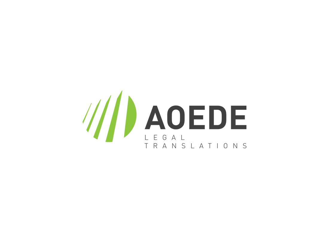 Logo AOEDE Legal Translations