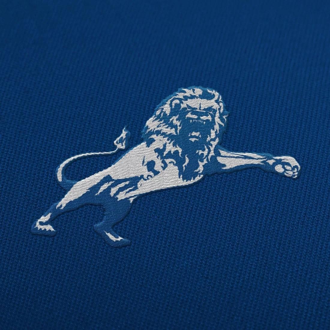 Millwall crest mockup