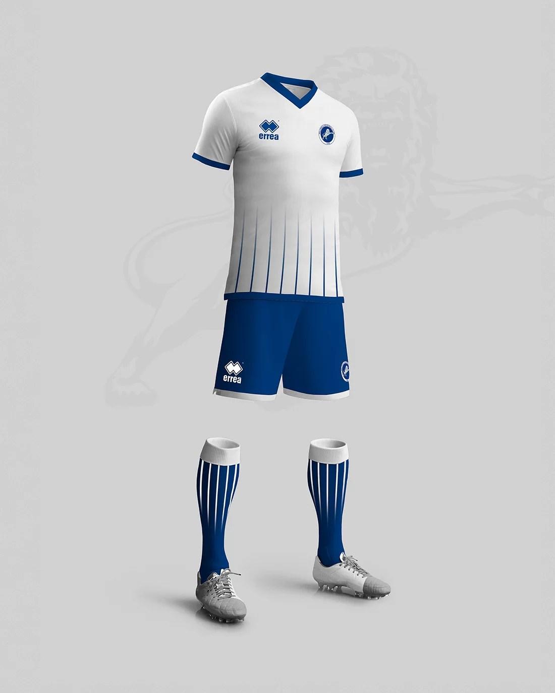 Stroje piłkarskie Millwall away kit design