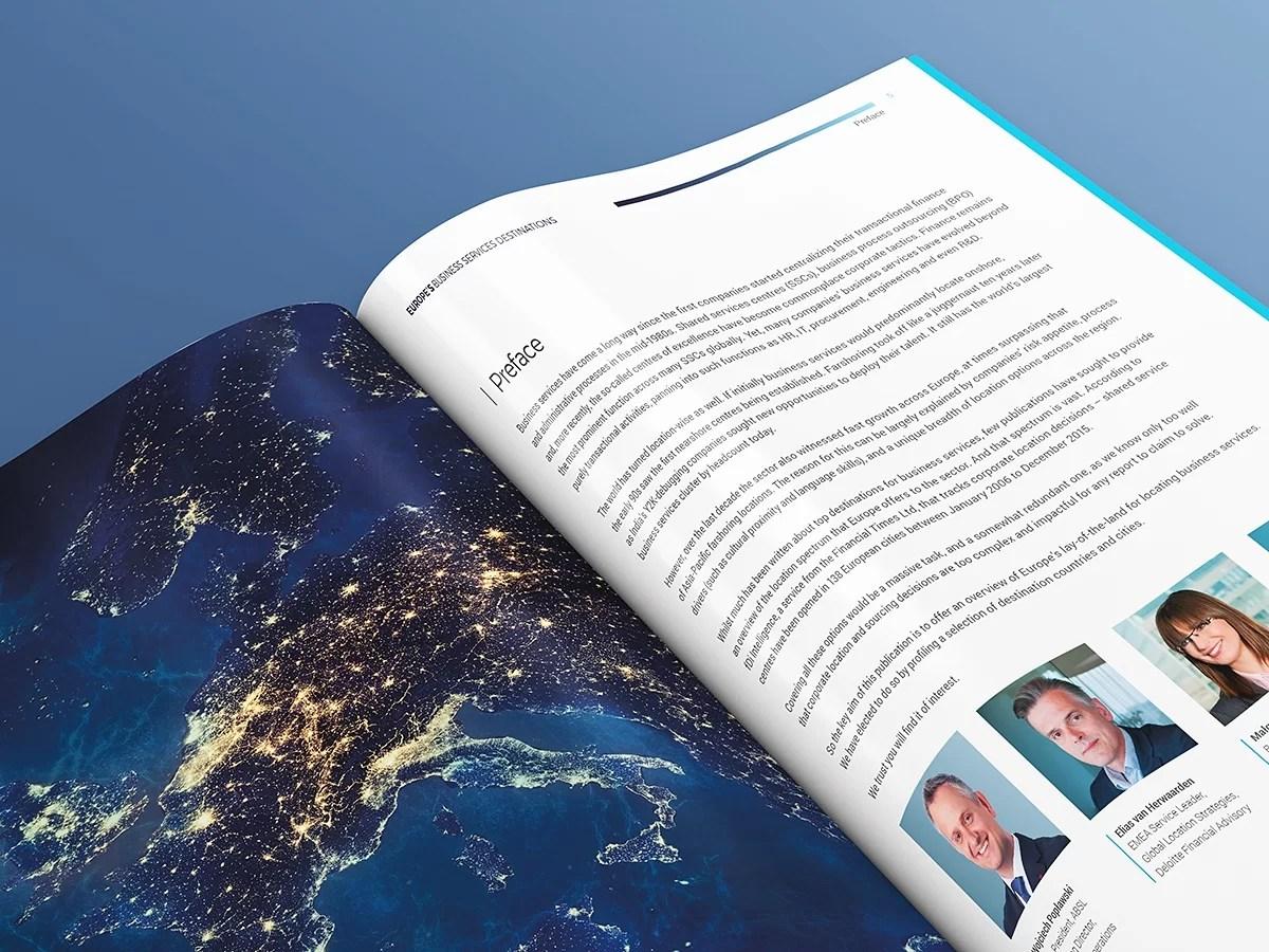 Raport europejski grafika