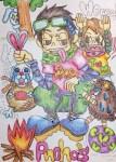 【MAMESUKE実績】Poncho's イラスト制作