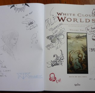 white worlds signing