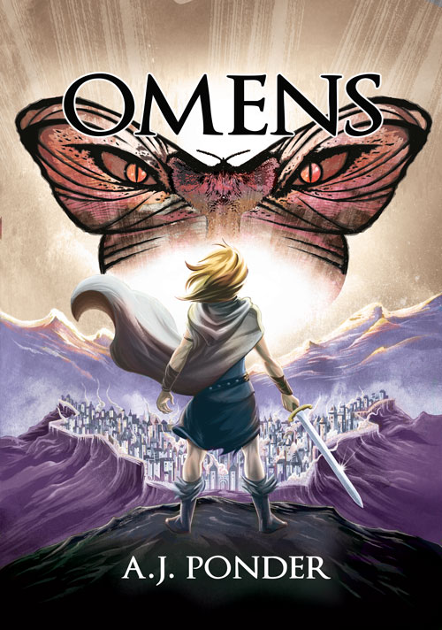 Omens: The Sylvalla Chronicles  Sylvalla faces her most terrifying foe yet, the chaos of butterflies.  Roll over physicists, forget about geometry, there's a new big bad in fantasy humor