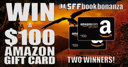 Win a $100 Amazon gift card science fiction fantasy. Love science fiction and fantasy book promotions and competitions?