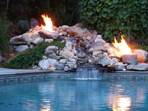 poolside fireboulder