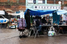 Some of the stalls along Sclater Street. © Violet Acevedo