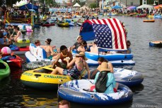 Tubing on the Canal in City Park. © Violet Acevedo