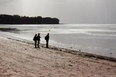 Gazing out into the sea at Cheltenham Beach. © Violet Acevedo