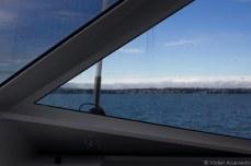 On the ferry to Waiheke. © Violet Acevedo