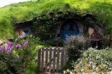 One of the smaller sized hobbit holes. © Violet Acevedo