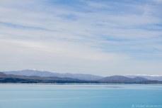 A lake the color the sky. © Violet Acevedo