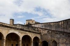 The layers of Castillo San Cristobal. © Violet Acevedo