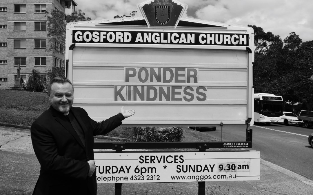 Fr Rod Bower Ponder Kindness on Church Board