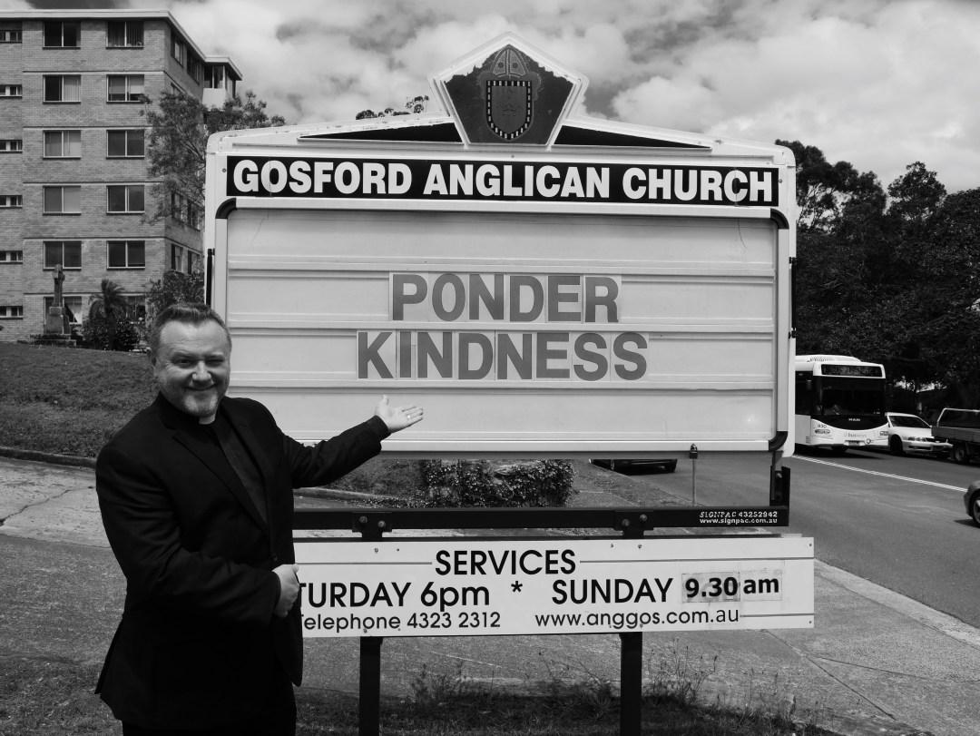 Fr Rod Bower Ponder Kindness on Church Board