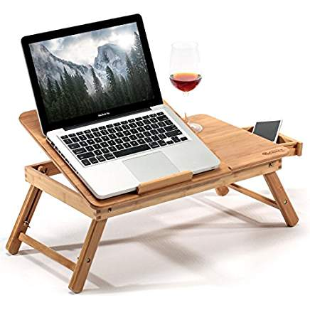 Shopping Ponderings Bamboo Table