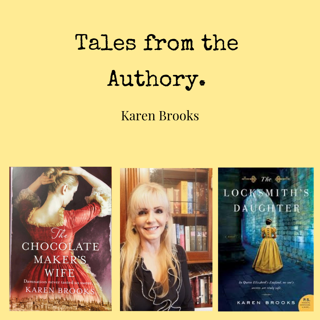 Karen Brooks Tales from The Authory Ponderings Magazine