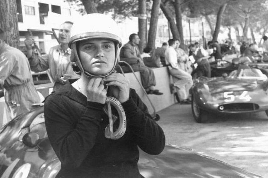 Fearless Maria, Formula One Italian Goddess