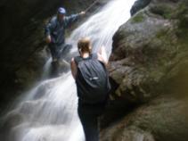 waterfall Ecuador