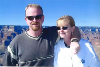 Grand Canyon, Arizona, siblings