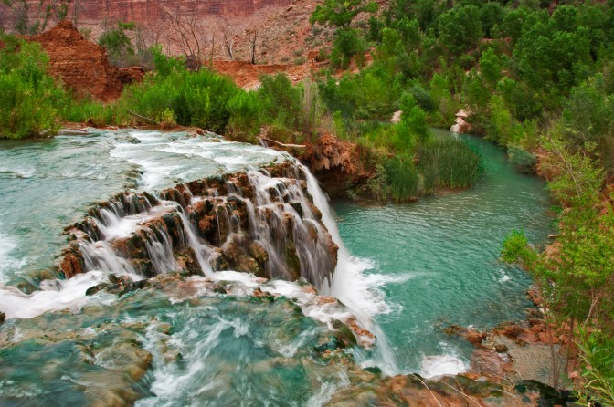 Havasupai Indian Tribe, Havasupai Falls, Havasu Creek, Little Navajo Falls
