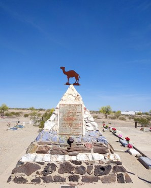 Hi Jolly Monument, Quartzsite, Arizona