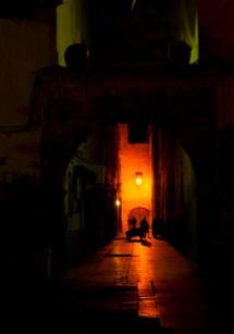 Morocco street scene