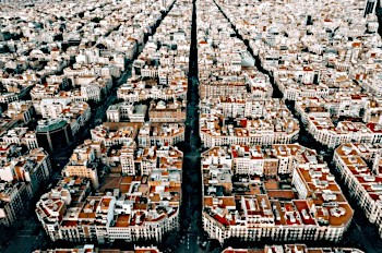 barcelona urban superblocks