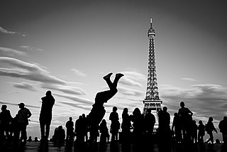 break dancing paris